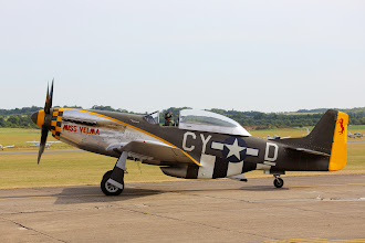 Photo: North American TF-51D Mustang