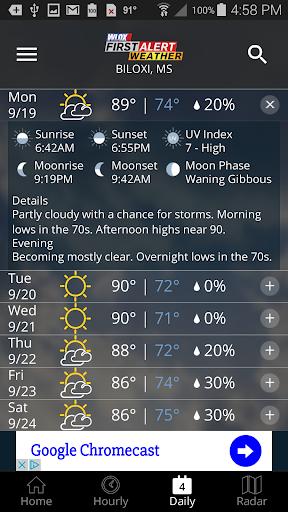 玩免費天氣APP|下載WLOX First Alert Weather app不用錢|硬是要APP