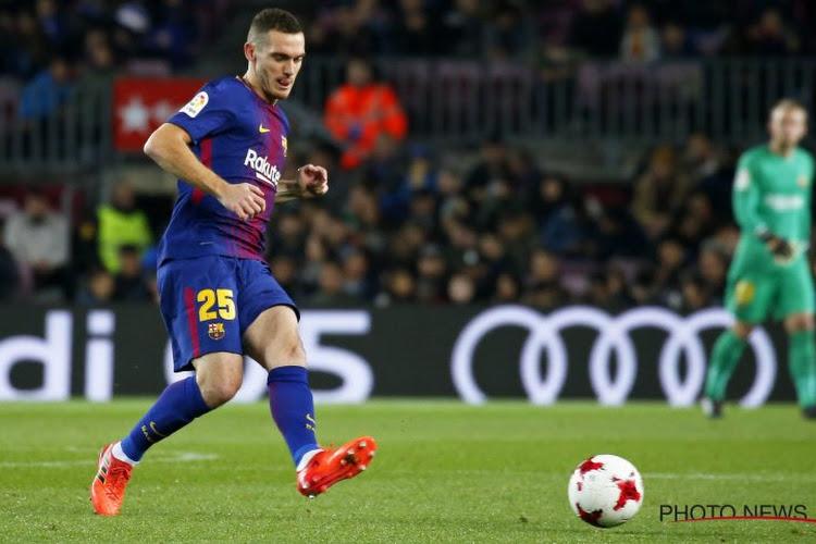Les incroyables chiffres de Vermaelen : le FC Barcelone ne perd pas quand il joue !