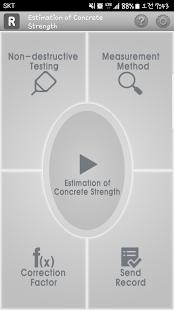Concrete strength NDT - náhled