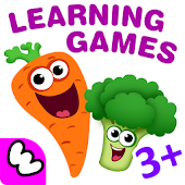 Tải FUNNY FOOD 2! Educational Games for Kids Toddlers! miễn phí