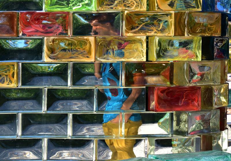 la trasparenza del vetro di murano di renzo brazzolotto