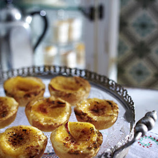 Vanilla Nectarine Tartlets.
