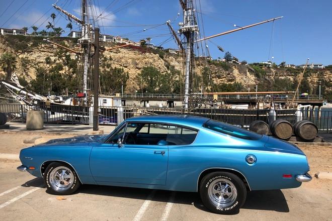 1969 Plymouth Barracuda Hire CA