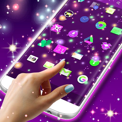 Fireflies on your screen (app)