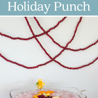 Cranberry Citrus Holiday Punch.