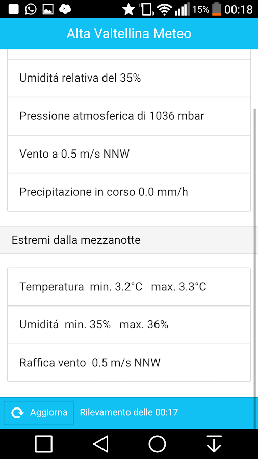 Meteo Bormio Live- screenshot