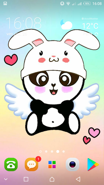 Panda Wallpapers Kawaii Cute Pandicorn On Google Play Reviews