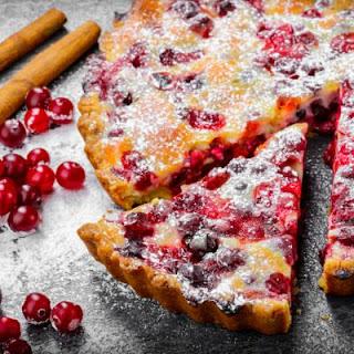 Sweet Creamy Cranberry Pie