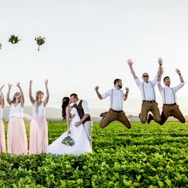 Joy by Lood Goosen (LWG Photo) - Wedding Groups ( wedding photography, wedding photographers, bridal party, brides, groom and bride, wedding dress, people, wedding party, wedding, weddings, wedding day, happy, bride and groom, wedding photographer, bride, groom, grooms, bride groom )