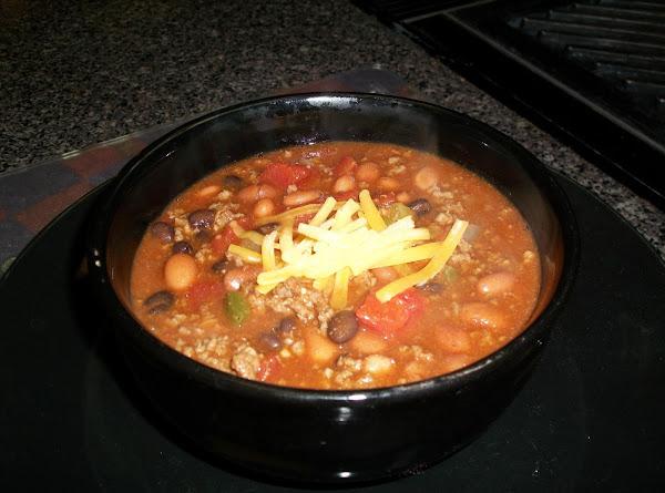 Quick 20 Minute Homemade Chili Recipe