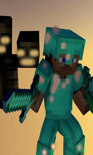 Fight Skin Minecraft Wallpaper