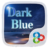 Dark Blue GO Launcher Theme
