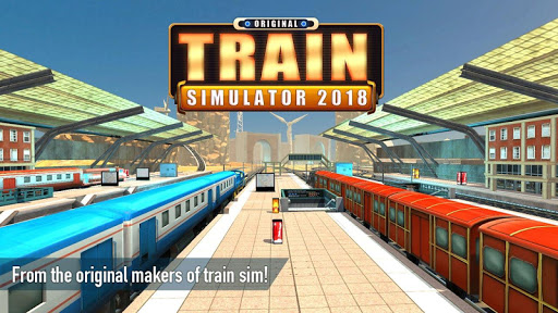 Train Simulator 2018 - Original  gameplay | by HackJr.Pw 15