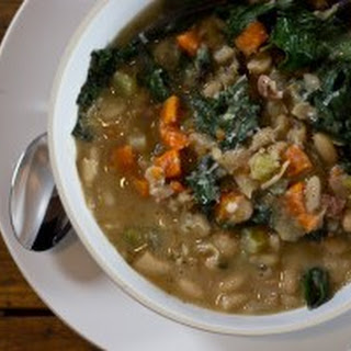 Tuscan White Bean Soup with Swiss Chard