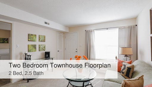 Two Bedroom Townhouse Colonial Apartments In Greensboro Nc