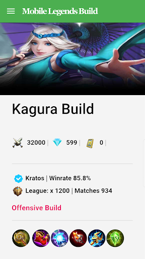 Mobile Legends Build & Guide 2.5.2 screenshots 6