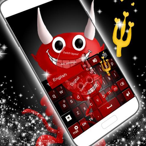 可爱的恶魔键盘 個人化 App LOGO-APP試玩