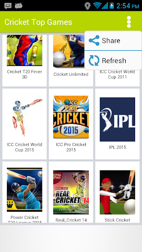 Top Cricket Games 2015