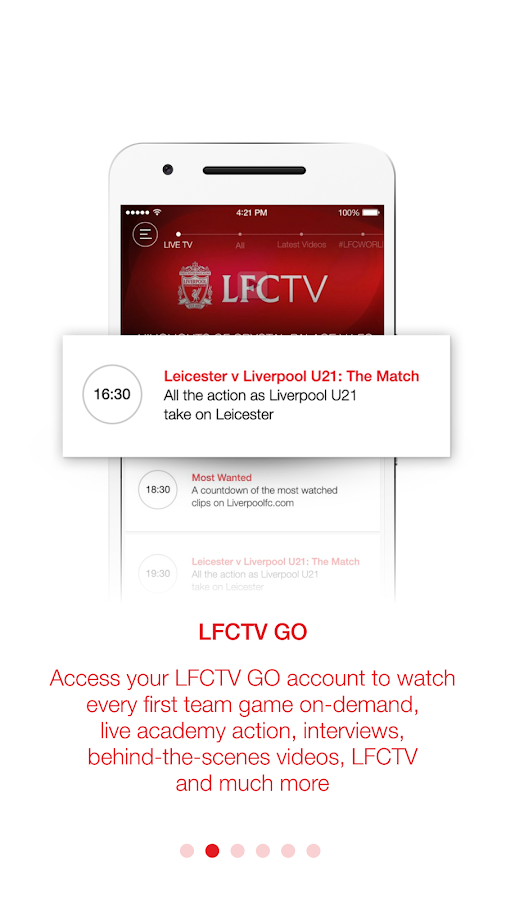 LFC Official App- screenshot