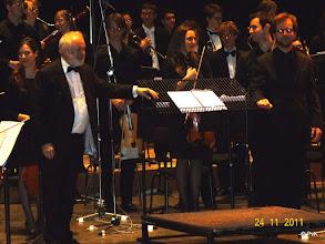 Photo: Kenneth Montgomery - dirigent van het Conservatoriumorkest
