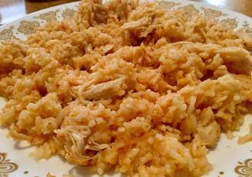 Instant Pot Chicken and Mexican Rice