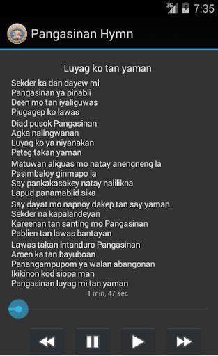 Pangasinan Hymn