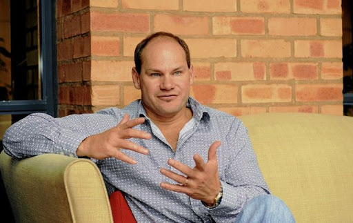 Quinton van Rooyen seems extremely bullish about Trustco's future. Picture: RUSSELL ROBERTS