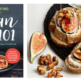 Fig, Walnut, and Vegan Honey Breakfast Tartine