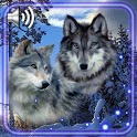 Winter Wolves Live Wallpaper icon