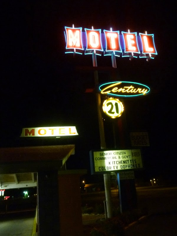 Photo: the century 21 motel in las cruces. 50ties style.