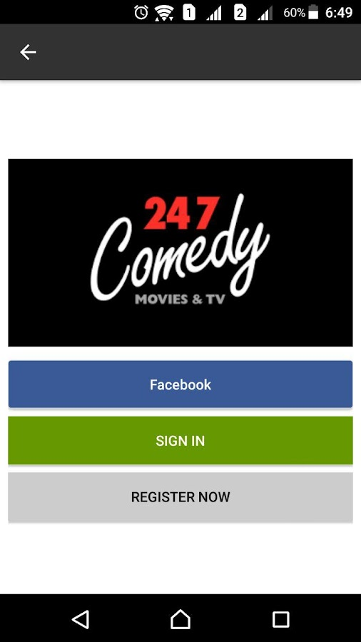 247 Comedy Movies & TV- screenshot