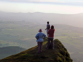 Photo: Evening walk to Temple Hill, Wednesday June 19th, 2013. Leaders Brendan Sheils, Sheila Lenihan. 4/5