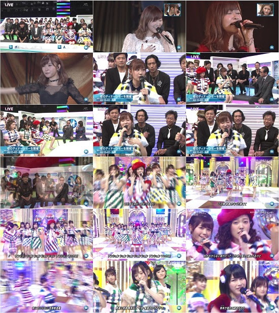 (TV-Music)(1080i) AKB48 Part – Music Station 161125