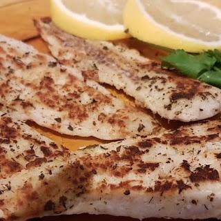 Pancassius Fish in an Oven - Greek Recipe