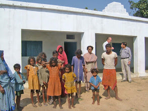 Photo: Those same children before they were enrolled at the school run by Project Mala