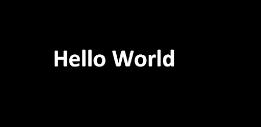 A sample hello world