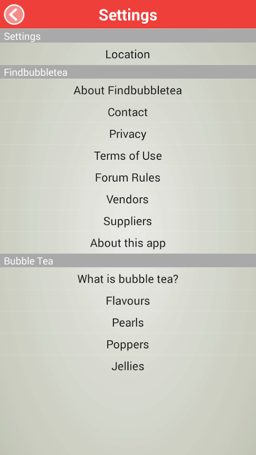 FindBubbleTea- screenshot