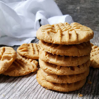 Skinny Peanut Butter Cookies.