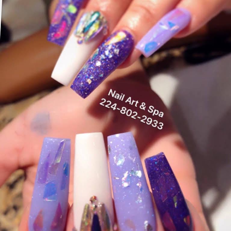 Nail Art Spa Nail Salon In Elgin
