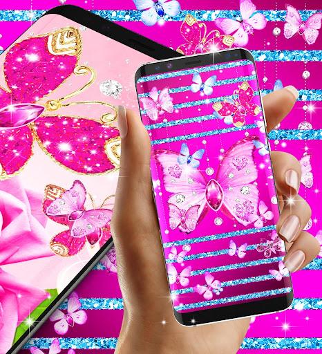 Download diamond butterfly pink live wallpaper on pc mac with about diamond butterfly pink live wallpaper altavistaventures Gallery
