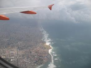 Photo: Approaching Tel Aviv