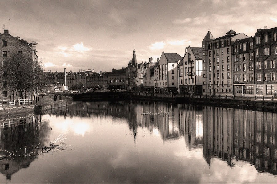 Victorian Shore by Mark Holm - Landscapes Waterscapes ( scotland, leith, edinburgh, the shore, victorian )