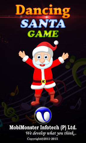 android Dancing Santa Game Screenshot 0