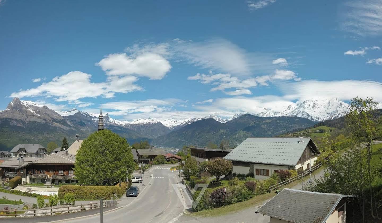 Terrain avec vue panoramique Combloux