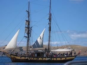 Photo: Windeward Bound sails past