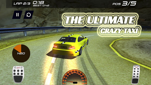 The ultimate crazy taxi