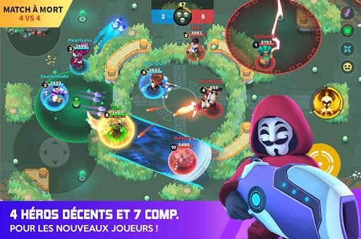 Télécharger Gratuit Heroes Strike - 3v3Moba & bataille royale -Offline mod apk screenshots 6
