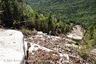 Photo: View from the ledges, NP climbing.