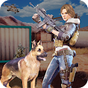 Modern Girl Commando: Free FPS Shooting Adventure icon